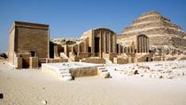 Giza Pyramids and Saqqara Private Tour from Cairo with Memphis, Cairo, City Tours