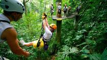 Adventure Combo Tour: Zipline and Tortuguero Canals, Limon, 4WD, ATV & Off-Road Tours