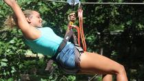 Fly Zone Treetop Abenteuer auf Loterie Farm, St. Martin