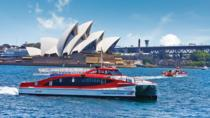 Sydney Combo: Hop-On Hop-Off Harbor Cruise and Hop-On Hop-Off City Bus Tour, Sydney, Day Cruises