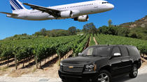 Half-Day Wine Tour With Airport Transfer From Sonoma or Napa, Napa & Sonoma