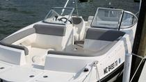 Traverse Bay Deck Boat Rental, Traverse City