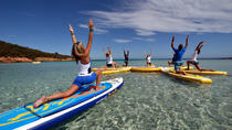 Stand Up Paddle Yoga Class in Chania, Crete