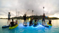Fire on Water Night Paddling Tour in Rarotonga-Kayak, Rarotonga, Stand Up Paddleboarding