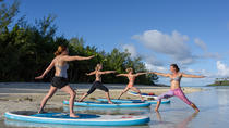 Paddle Board Yoga in Muri Lagoon, Rarotonga, Yoga Classes