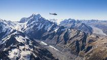 Voo de helicóptero com vista alpina do Monte Cook, Mount Cook, Helicopter Tours