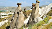 Wonders of Cappadocia: Kaymakli Underground City and Red Valley Hiking Tour, Urgup, Day Trips