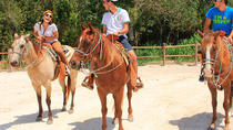Horseback Riding Tour with Cenote Visit , Playa del Carmen, Horseback Riding
