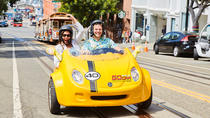 San Francisco All-Day Alcatraz and GoCar Adventure Package Including Lunch, San Francisco, Walking...