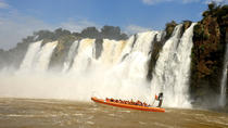 Full Day Iguazu Falls Argentian and Brazilian Side with Boat Ride to Devils Throat, Puerto Iguazu, ...