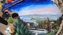 Paint and Wine in Taormina with Villa Comunale Garden Visit, Taormina, Wine Tasting & Winery Tours