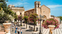 Private tour to Taormina-Castelmola-Giardini Naxos with option of Food and Wine tasting, Taormina,...