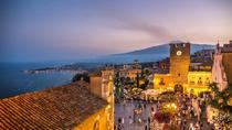 Taormina Sunset Walking Tour with Aperitif on Roof-Top Terrace, Taormina, Food Tours