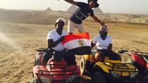ATV at Giza Pyramids and Camel Ride during sunset, Cairo, 4WD, ATV & Off-Road Tours