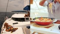 Santorini Finest by Land and Sea the Highlights tour and Catamaran cruise, Santorini, Catamaran...