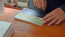 Japanese Bookbinding Lesson in Tokyo