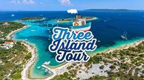 Blue Lagoon and Three Island Tour from Trogir, Split, Day Cruises
