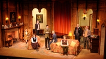 Aufführung von The Mousetrap in Londoner Theater, London, Theater, Shows & Musicals