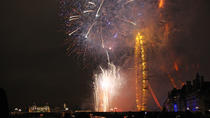 5-Hour New Year's Eve River Gala Dinner Cruise and Fireworks Display in London, London, Dinner...