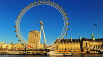 London Eye en sightseeingcruise op de Theems, London, Day Cruises