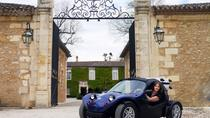Saint-Emilion Full Day Self-Guided Cabriolet Tour from Bordeaux with Wine Tastings, Bordeaux,...
