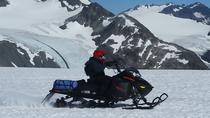 Snowmobile on Godwin Glacier via Helicopter access, Seward, Ski & Snow