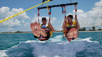 Parasail in the Grand Cayman, Cayman Islands, Catamaran Cruises