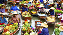 Bangkok Temple and Floating Market Tour, Bangkok, Full-day Tours