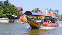 Full-Day Bangkok Palace and Temple Tour with Longtail Boat Trip, Bangkok, Historical & Heritage ...
