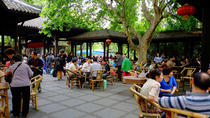 Chengdu Private Day Tour of Dujiangyan Irrigation System, Wide-and-Narrow Alley, and Renmin Park, ...