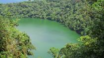 Cerro Chato volcano and waterfall guided mountain hike and rainforest nature watching tour at...