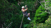 Zip line Canopy half day adventure tour near San Jose Costa rica in San Ramon, San Jose, 4WD, ATV &...