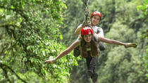 Congo Trail Canopy Tour from Playa del Coco, Guanacaste and Northwest, Ziplines