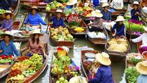 Full-Day Bangkok City Tour Including Damnoen Saduak Floating Market and Rose Garden, Bangkok, ...