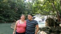Private Tour: Kanchanaburi Erawan Waterfall, Bamboo Rafting with Thai-Burma Death Railway Tour from...