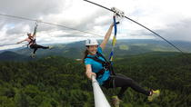 Guided Zipline Tour in Mont Tremblant, Mont Tremblant