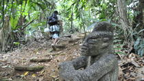 Jungle Adventure from Limon: Hiking, Rapelling and Canopy Tour, Limon, Climbing