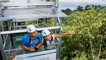 Sky Tram and Sky Trek from Arenal, La Fortuna, Hiking & Camping
