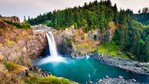 Snoqualmie Falls en Seattle Winery Tour, Seattle, Dagtrips