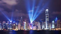 Hong Kong Harbor Night Cruise and Dinner at Victoria Peak, Hong Kong, null