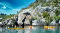 Half-Day Kayak to the Maori Rock Carvings in Lake Taupo, タウポ