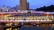 Private Tour: Singapore by Night Tour with Dinner along Singapore River, Singapore