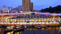 Private Tour: Singapore by Night Tour with Dinner, Singapore, Walking Tours
