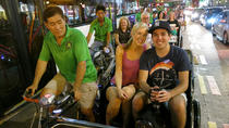 Singapores Chinatown - aftentur med trishaw med transport, Singapore