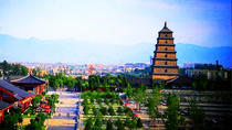 Private Xi'an in One Day: Big and Small Wild Goose Pagodas and Tang Paradise, Xian, Private...