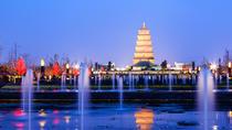 Xi'an Private Evening Tour: Xi'an Muslim Street, Big Goose Pagoda, North Square Fountain, Xian,...