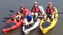 Guided Kayak Paddling Tours on Topsail Island NC, North Carolina