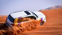 Dubai Desert Safari with BBQ And 4W Land Cruiser Dune Bashing Experience-Sandboarding, Dubai, ...