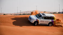 Dubai Desert Safari with BBQ And 4W Land Cruiser Dune Bashing Experience-Sandboarding From ...