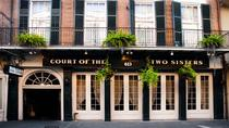 Bufé de brunch, Jazz en el restaurante Court of Two Sisters, Nueva Orleans